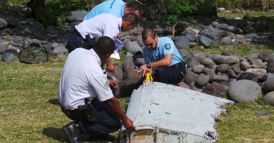 MH370: Gardener Discovers Damaged Suitcase Near Site Of Plane Debris
