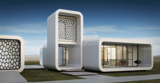The First 3-D Printed Office Building Is Coming To Dubai