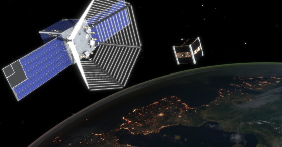 Swiss 'Pac-Man' Satellite Designed To Gobble Up Space Debris