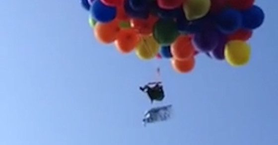 How Many Balloons Does It Take To Fly?