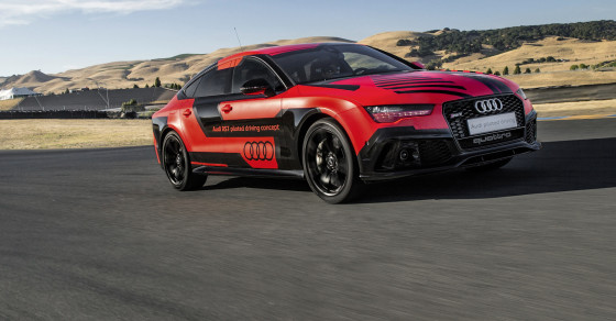 Take A Ride In Audi's Autonomous Car