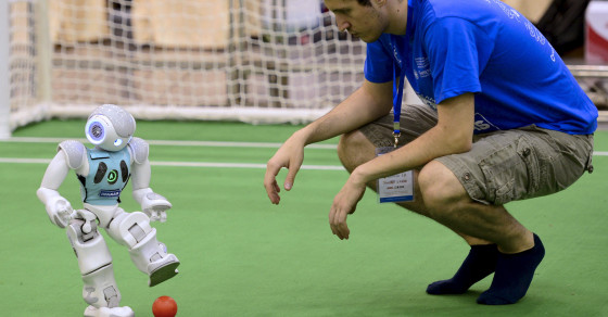 Could Robots Ever Beat Humans On A Soccer Field?