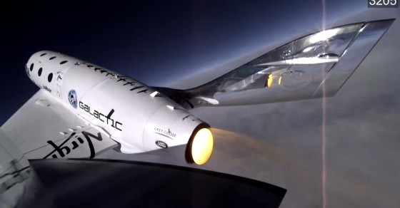 Video Shows SpaceShipTwo's Final Moments
