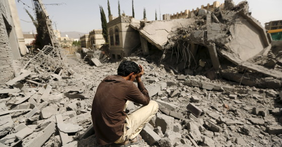 Saudi-Led Campaign Of Airstrikes In Yemen Marks 100th Day