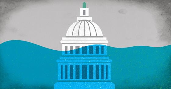 Washington D.C. Is Sinking