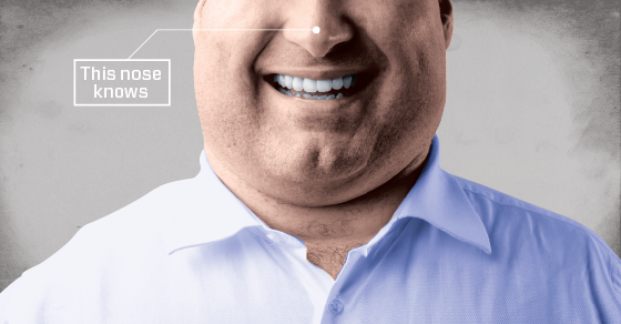 Are You Obese? Blame Your Nose