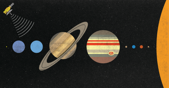 How Color Photos Travel 3.6 Billion Miles From Pluto To Earth