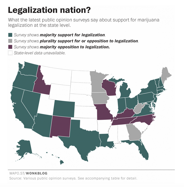 pot legalization washington post