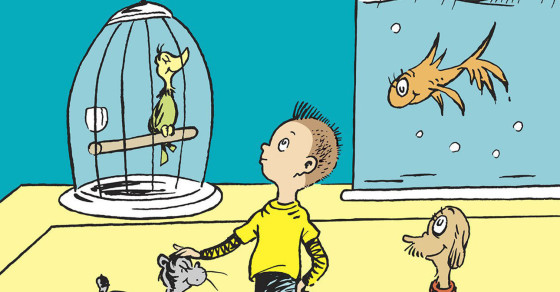 The Political Message Hidden Within Dr.  Seuss' New Book