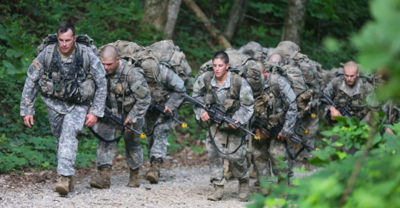 Think You're Fit? You Couldn't Last 48 Hours In Army Ranger School