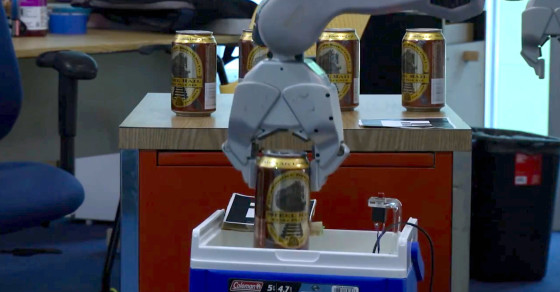 Watch These Robots Serve Up Beer