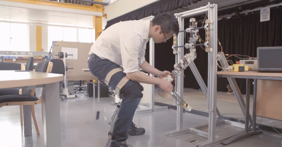 Researchers Use Bio-Inspired Robot Design To Create Chairless Chairs