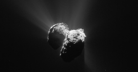 What The Rosetta Probe Discovered While Orbiting Comet 67P