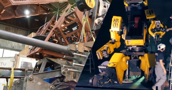 Megabots Assemble! All Star Team Will Prep USA's Battle Bot