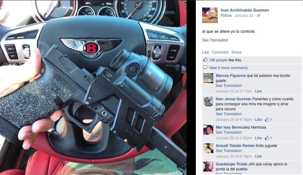 el chapo jr  u2019s facebook is a window into the drug cartel world