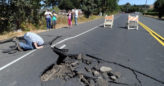 If You Live In These 10 States, There's A Risk Of A Big Earthquake