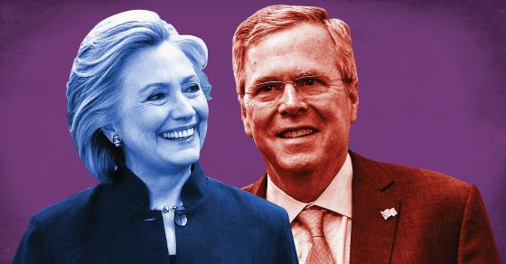 Hillary's Mega-Donors Also Funding Jeb