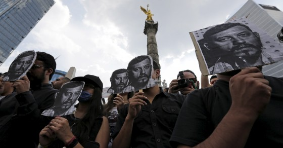 Mexicans Are Outraged Over Photojournalist's Death