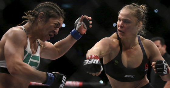 Fans Are Loving UFC Fighter Ronda Rousey