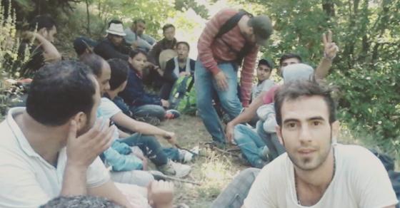 Migrants Instagram Their Perilous Voyages To Asylum