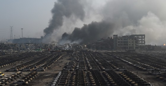 China Explosion Could Trigger More Blasts Miles Away