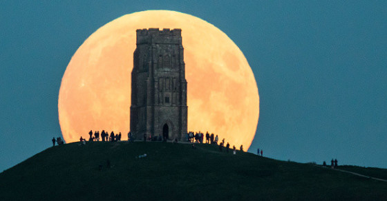 Super Photos From The Supermoon