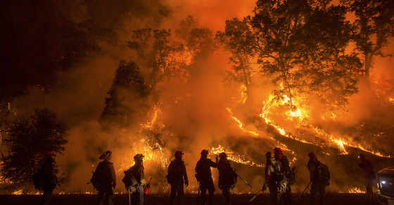 By The Numbers: The Raging California Wildfires