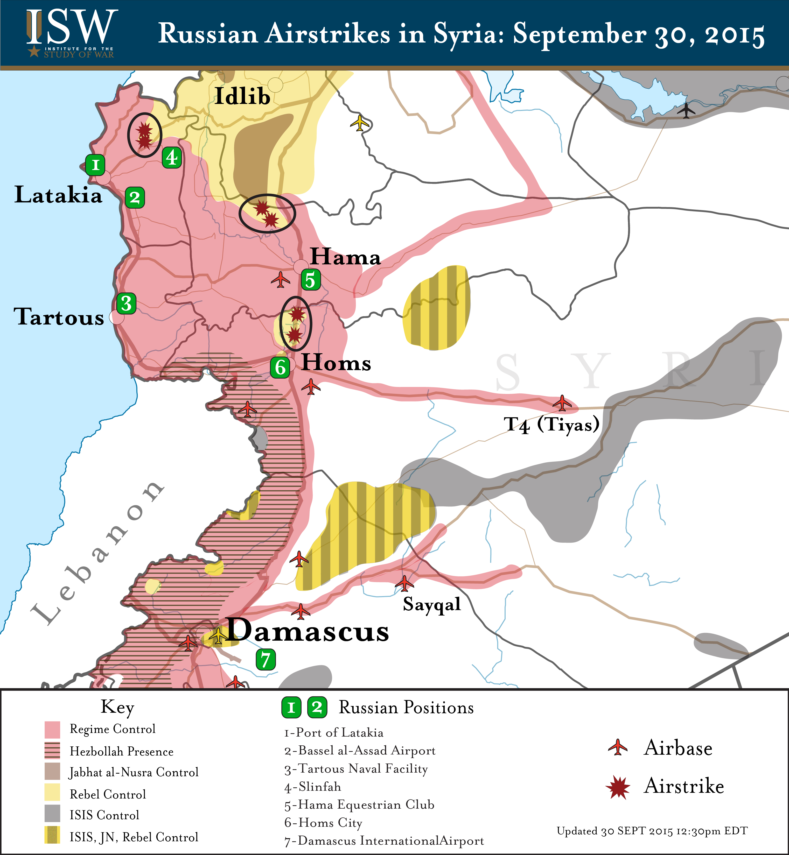 Russian Airstrikes 30 SEPT 2015 12