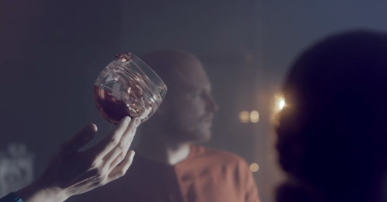 This Glass Is Made For Drinking Whisky In Space