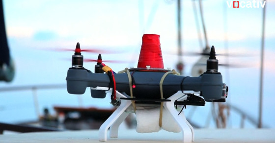 Meet Snotbot, The Snot Collecting Drone