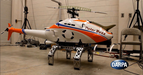 DARPA's Helicopter Has Legs That Allow It To Land On Any Terrain