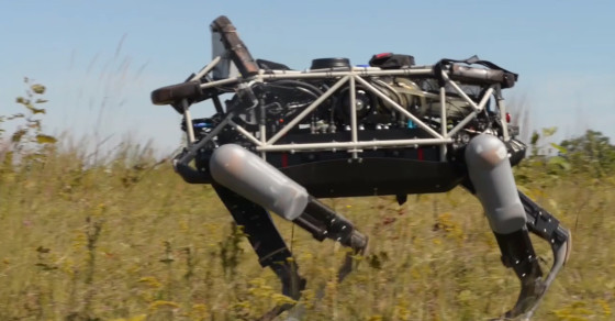 Marine Corps Testing Out Robot Dog For Military Operations
