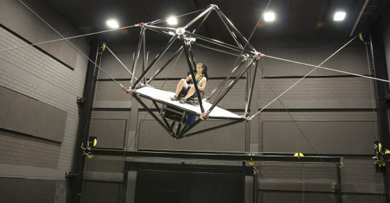 This Simulator Brings Virtual Reality To Life