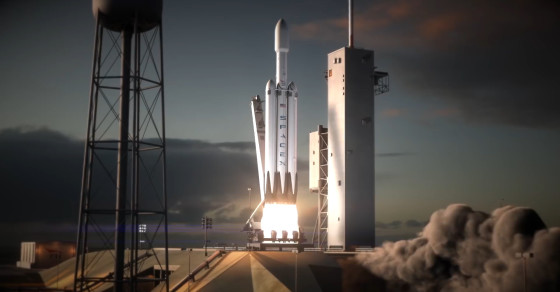 SpaceX's Insanely Powerful New Rocket Is Set To Launch Next Spring