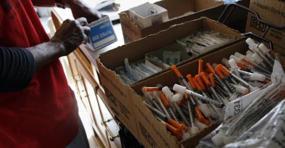 D.C.'s Needle Exchange Program Is Saving Lives & Money