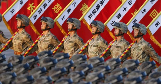 Chinese Women Swoon Over Men To Be Cut From The Military