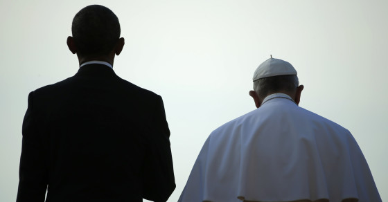 Climate Change Chatter Heats Up With Pope's Visit