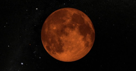 Don't Miss The Super Harvest Blood Moon