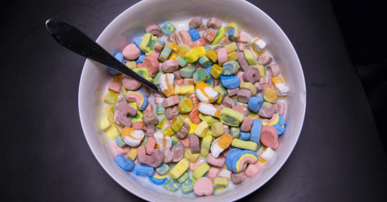 Hey Stoners, How Much Sugar Is In Marshmallow-Only Lucky Charms?