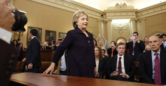 Hillary Clinton's Benghazi Committee Hearing: By The Numbers