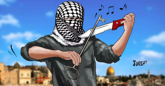 Palestinians Celebrate Stabbing Attacks With Wave Of Cartoons