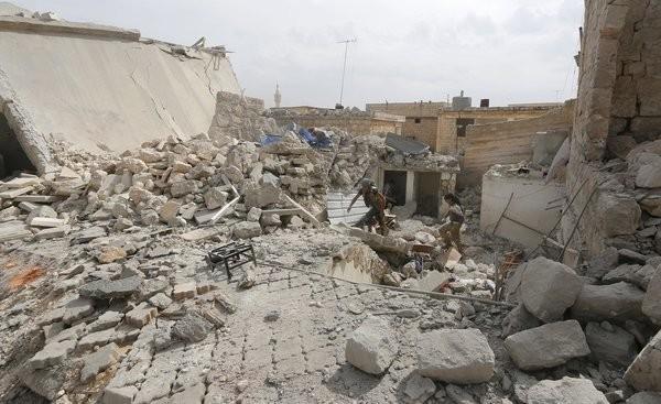 Putin Syria Aleppo Airstrike Proxy