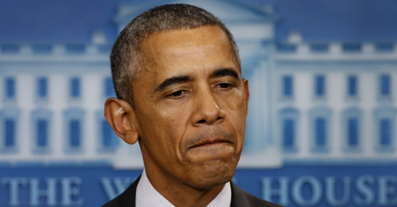 Obama's 13th Statement On Mass Shootings Was His Most Political
