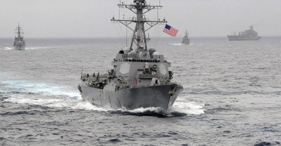 Chinese Rage Over U.S. Warship's Proximity To Man-Made Islands