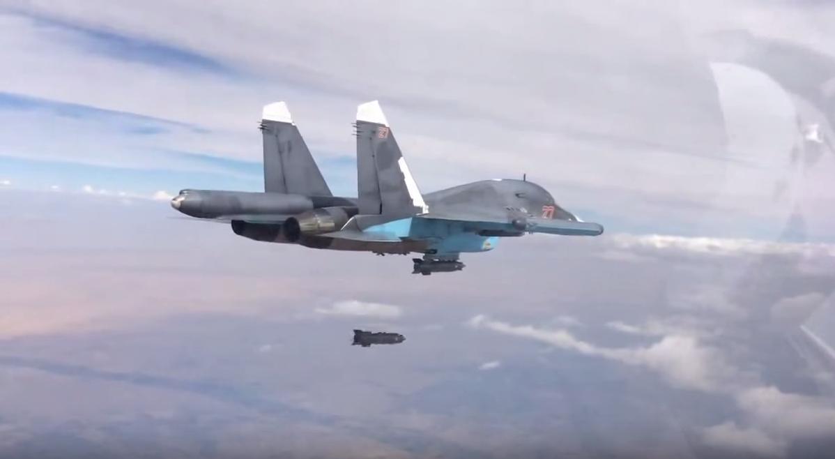 Russia War Plane Syia