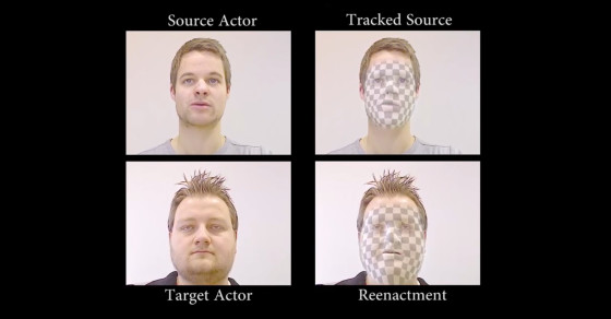 This Software Lets Someone Else Control Your Face