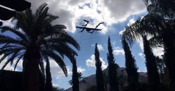 Check Out Google's Latest Project Wing Drone