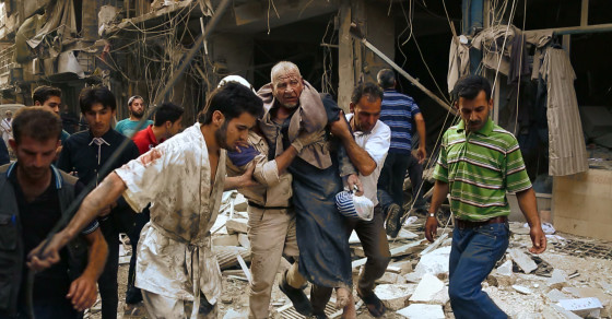 Syria's Messy, Multifaceted Civil War, In One GIF