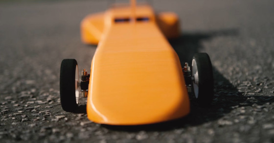 A 3D-Printed RC Car That Goes Over 100 MPH