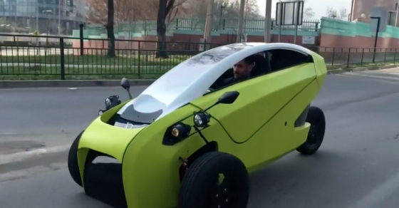 Chile's First Electric Car Hits The Streets